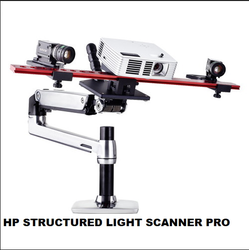 SCANNER 3D HP